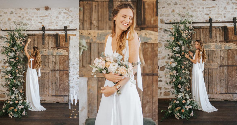 Cérémonie, créatrice, art floral, fleur de mariage cérémonie laïque, design floral, fleuriste mariage, création florale, atelier floral