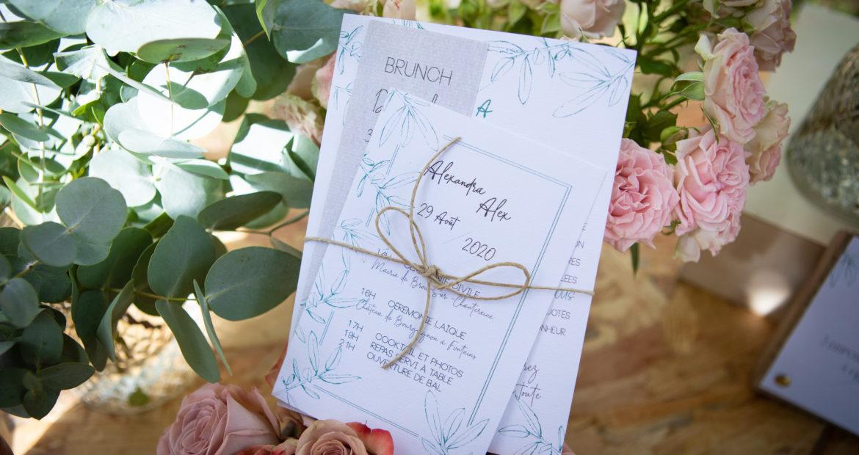 Faire part, faire part mariage, papier, papeterie, design graphique, papeterie personnalisée