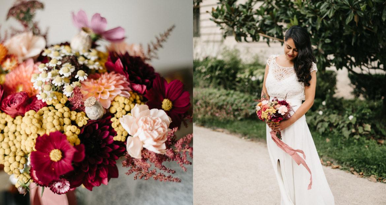 France, décoratrice, fleuriste, floral designer, fleurs de mariage, wedding flowers, accessoires fleuris , paris, ile de France, fleurs séchées, mariée, bouquet de mariée