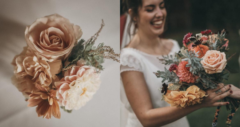 Cérémonie, mariage, centre de table, décor, décoratrice, fleuriste, ile de france, mariage en automne, mariage nature,