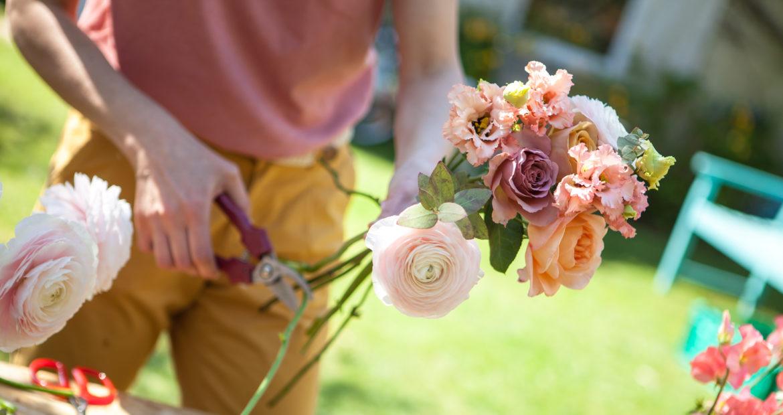 Atelier floral, couronne, bouquet, animation, entreprise, couronne de fleur, paris, ile de France, bar à fleur, animation atelier