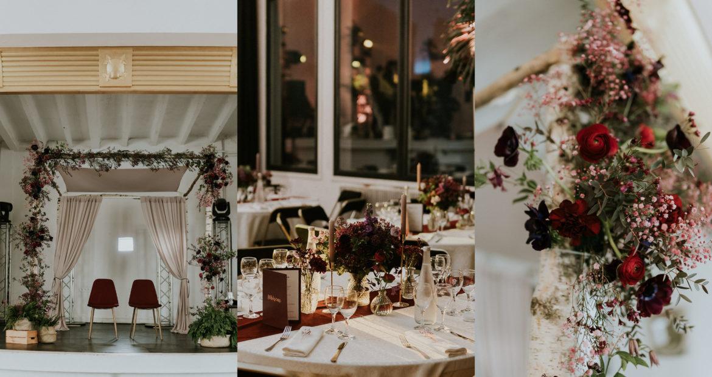 Fleuriste, Paris, mariage Parisien, mariage en hiver , mariage juif