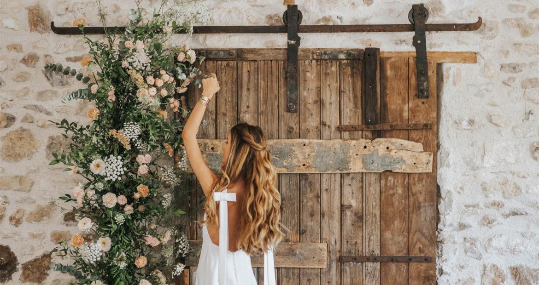 Cérémonie, créatrice, art floral, fleur de mariage cérémonie laïque, design floral, fleuriste mariage, création florale, atelier floral, maison floret, mademoiselle constellation