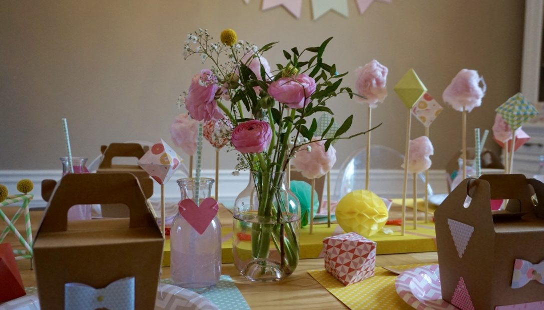 fleuriste, sweet table, anniversaire, bapteme, famingo, kids, décoratrice, candy bar, enfant, paris, Ile de France