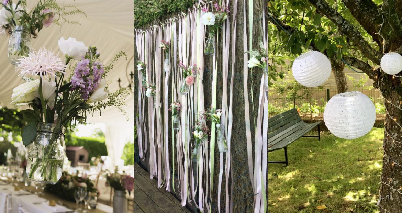 Fleuriste, décoratrice mariage,