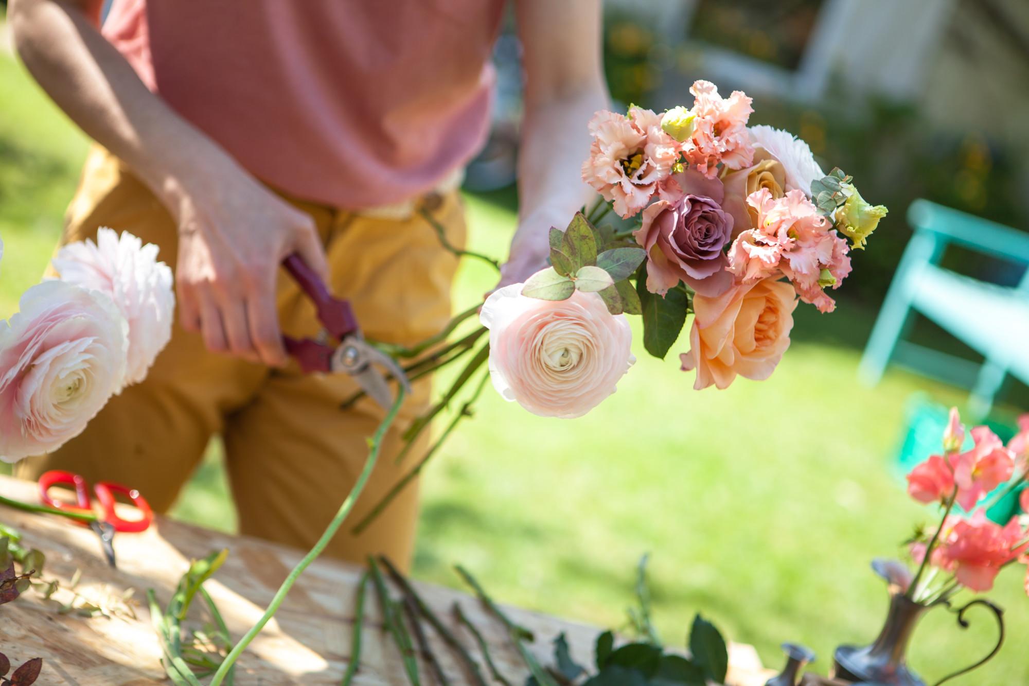Démonstration bouquet