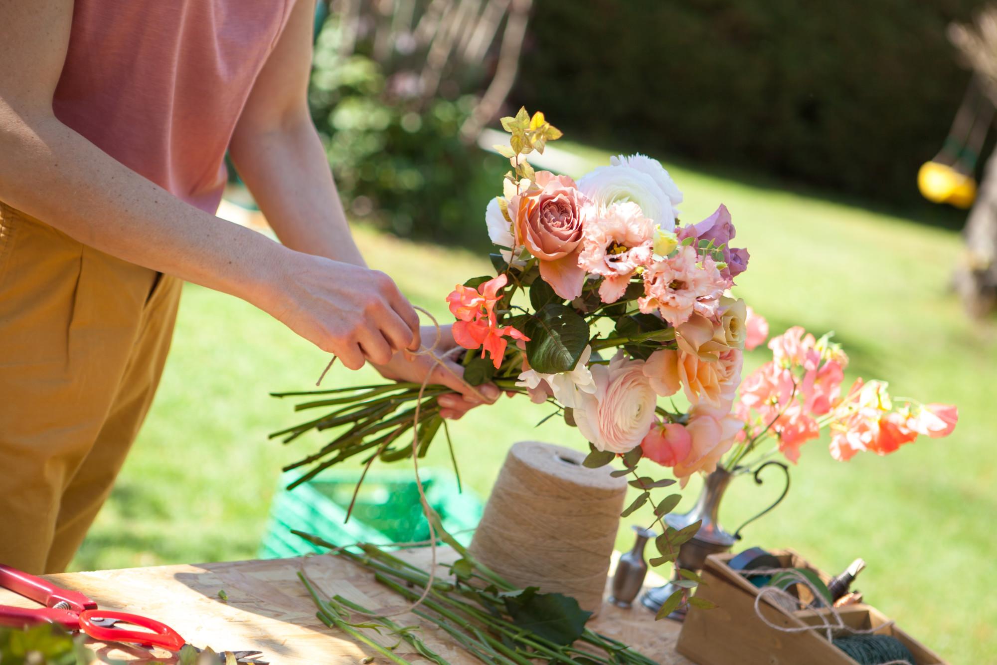 Workshop atelier floral
