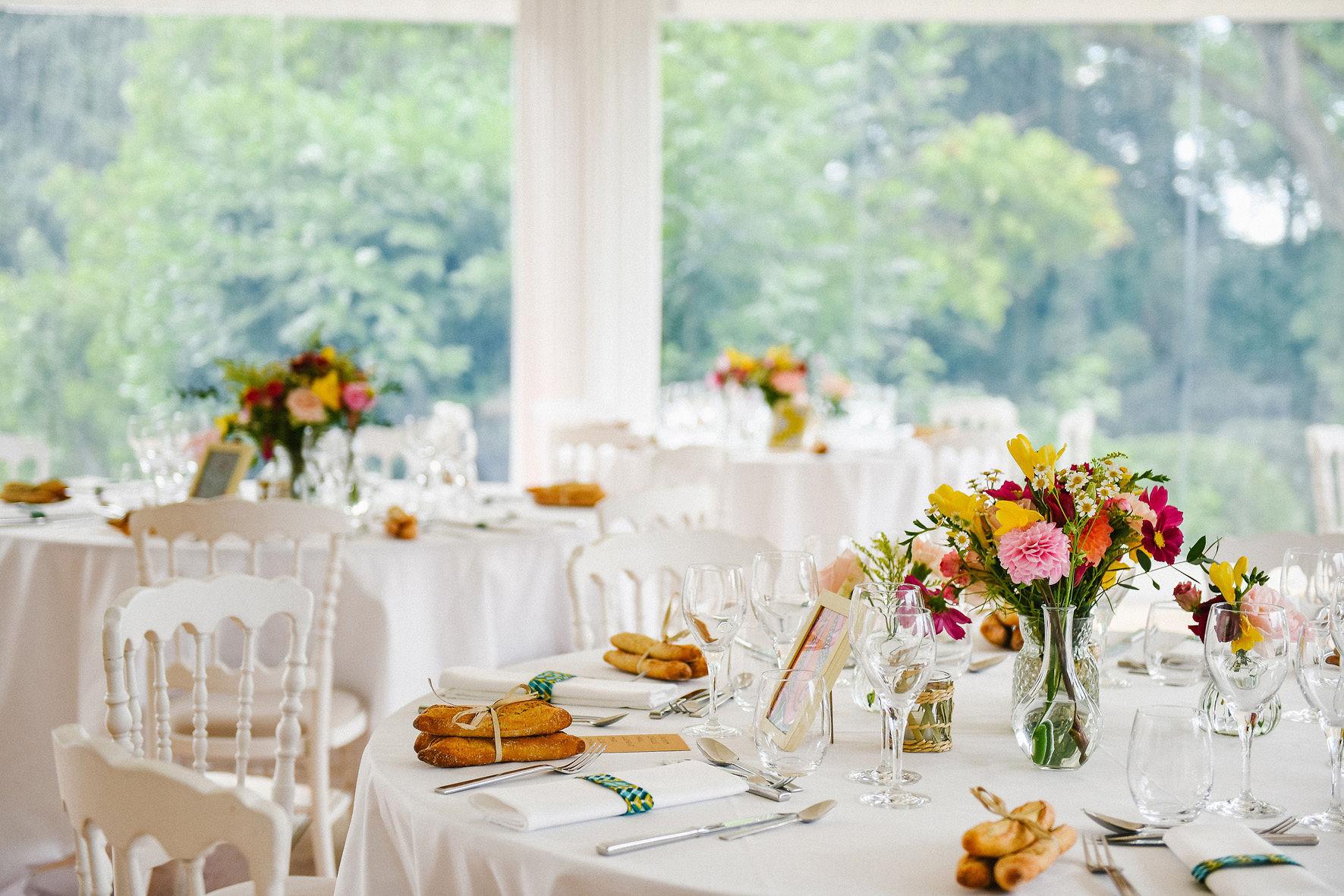 décor de table mariage