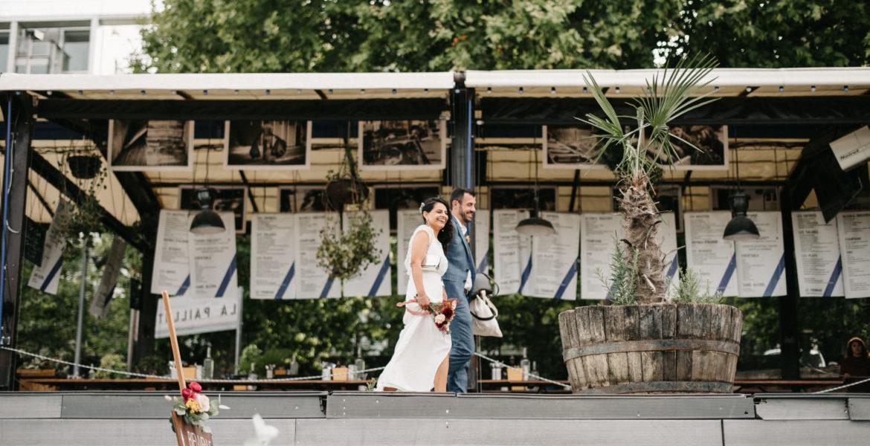 Mariage intimiste à Paris