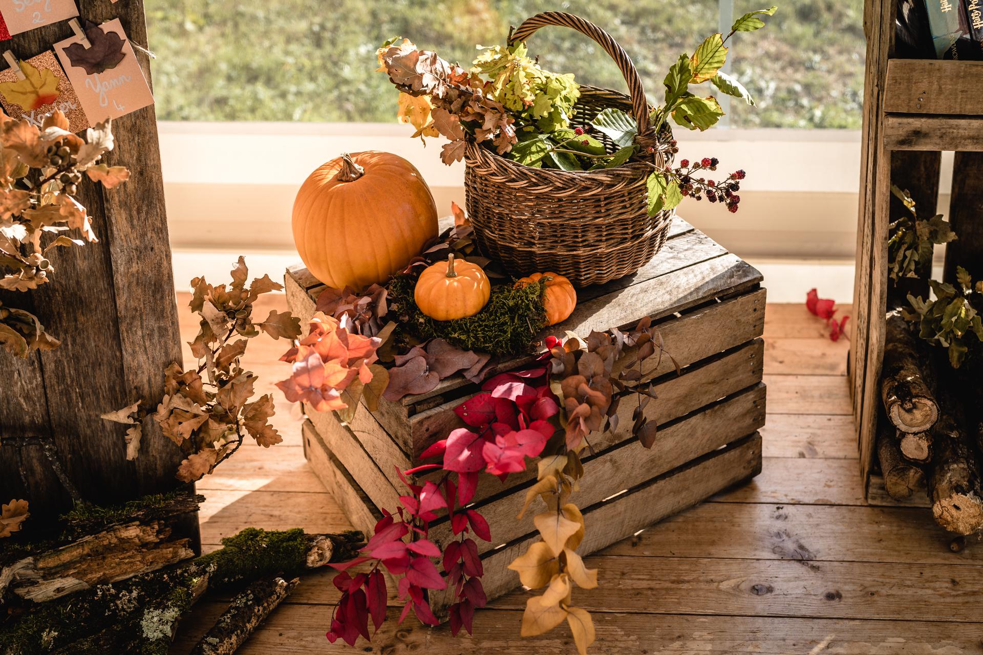 Décoration citrouille, décoration automne