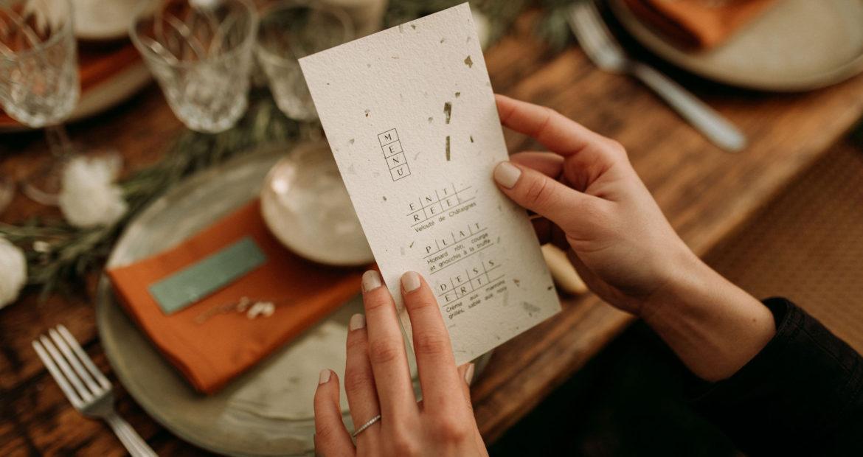 papeterie, mariage, décoratrice Ile de France, mariage Paris, décoratrice Paris, décor mariage, design graphique, menu de mariage