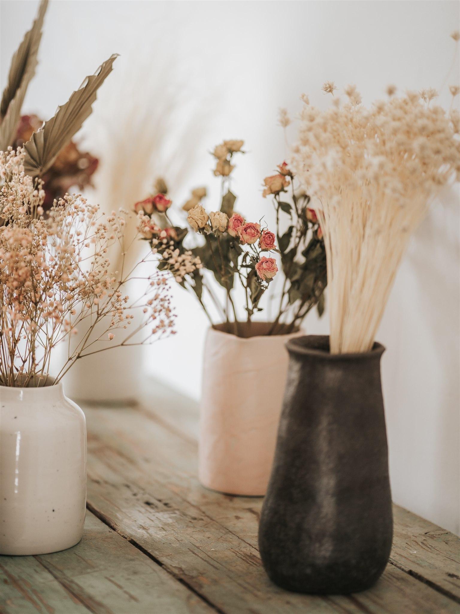bar à fleur, fleur séchées, céramique, décoration mariage, bar à thème