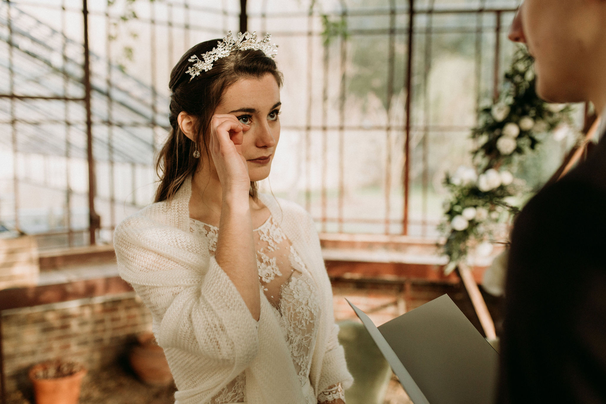 Domaine verderonne mariage serre cérémonie