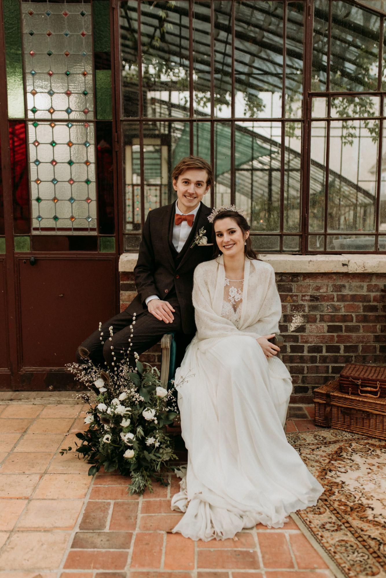 Domaine verderonne mariage photobooth et mariés