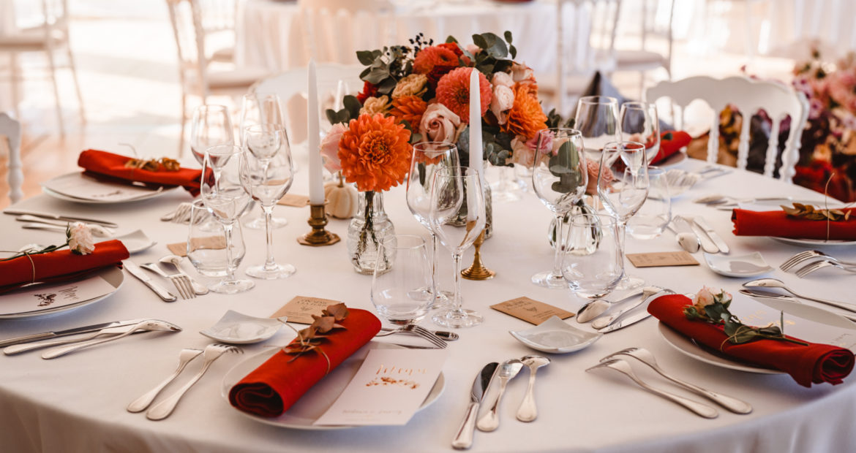 table mariage centre de table, mademoiselle constellation, mariage au château, château de méridon, citrouille, mariage automne, décoratrice, fleuriste, mariage, Ile France