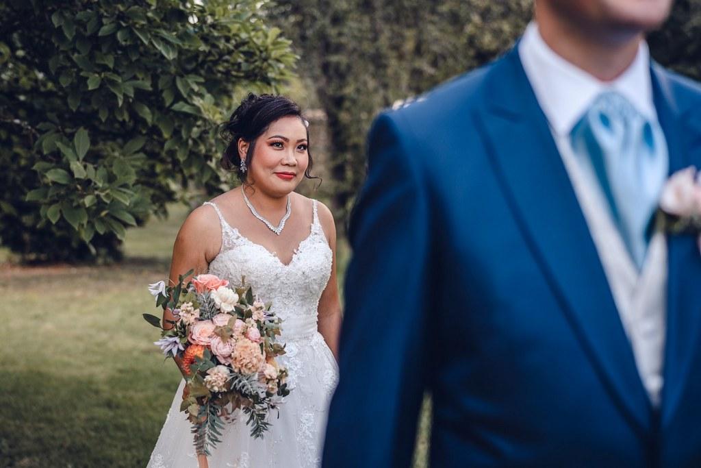 découverte des mariés, couple, mariage, vrai mariage, bouquet de mariée, floral design, fleuriste mariage