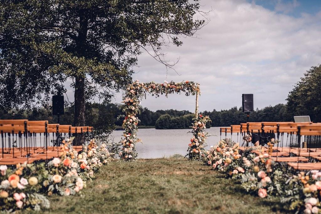 cérémonie, mariage élégant, mariage raffiné, fleuriste mariage