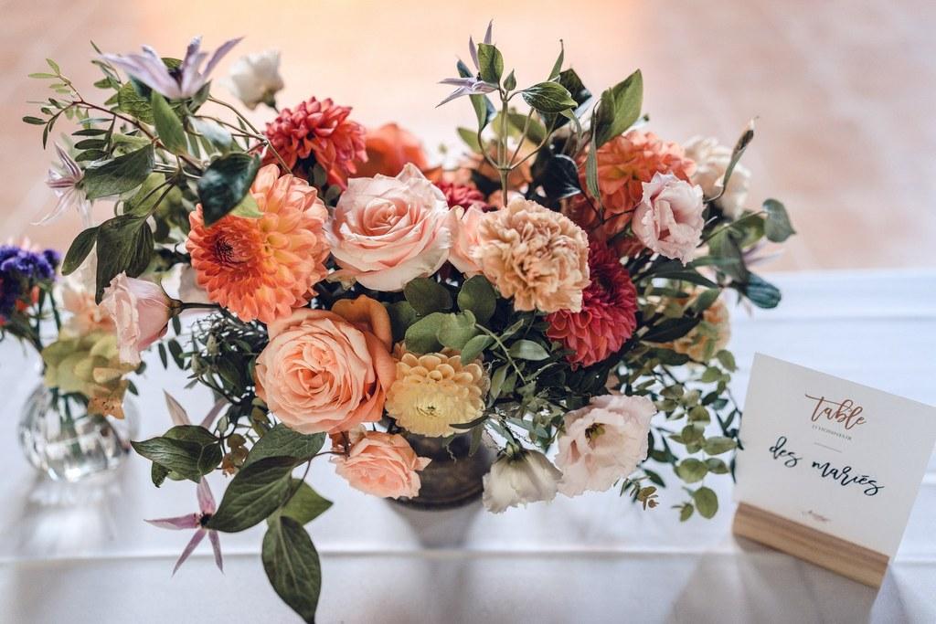 centre de table, compotier, fleuriste mariage, floral designer, mariage paris, décoration de mariage, art floral