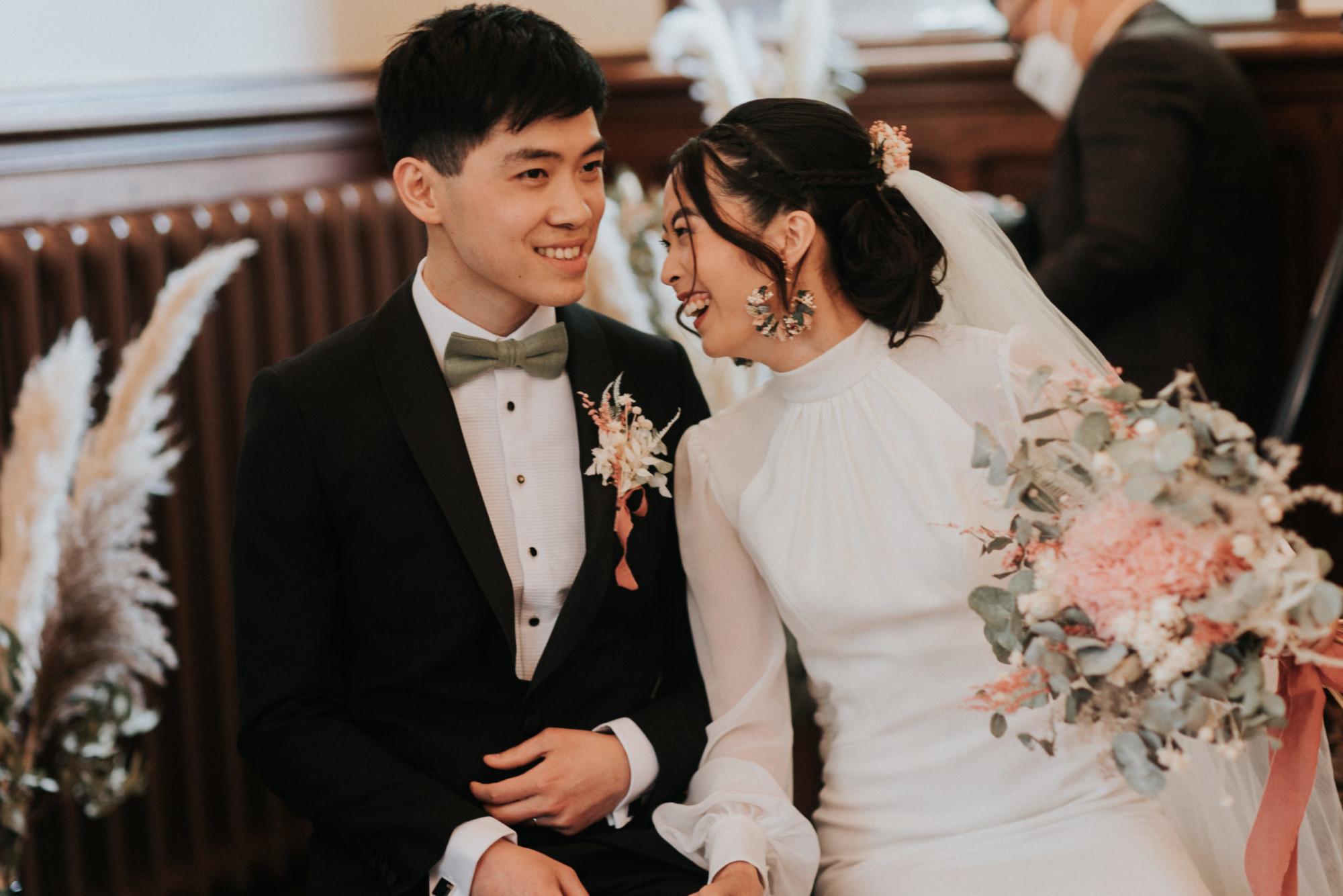 cérémonie mariage, couple, fleuriste, décor de cérémonie, mariage Yvelines