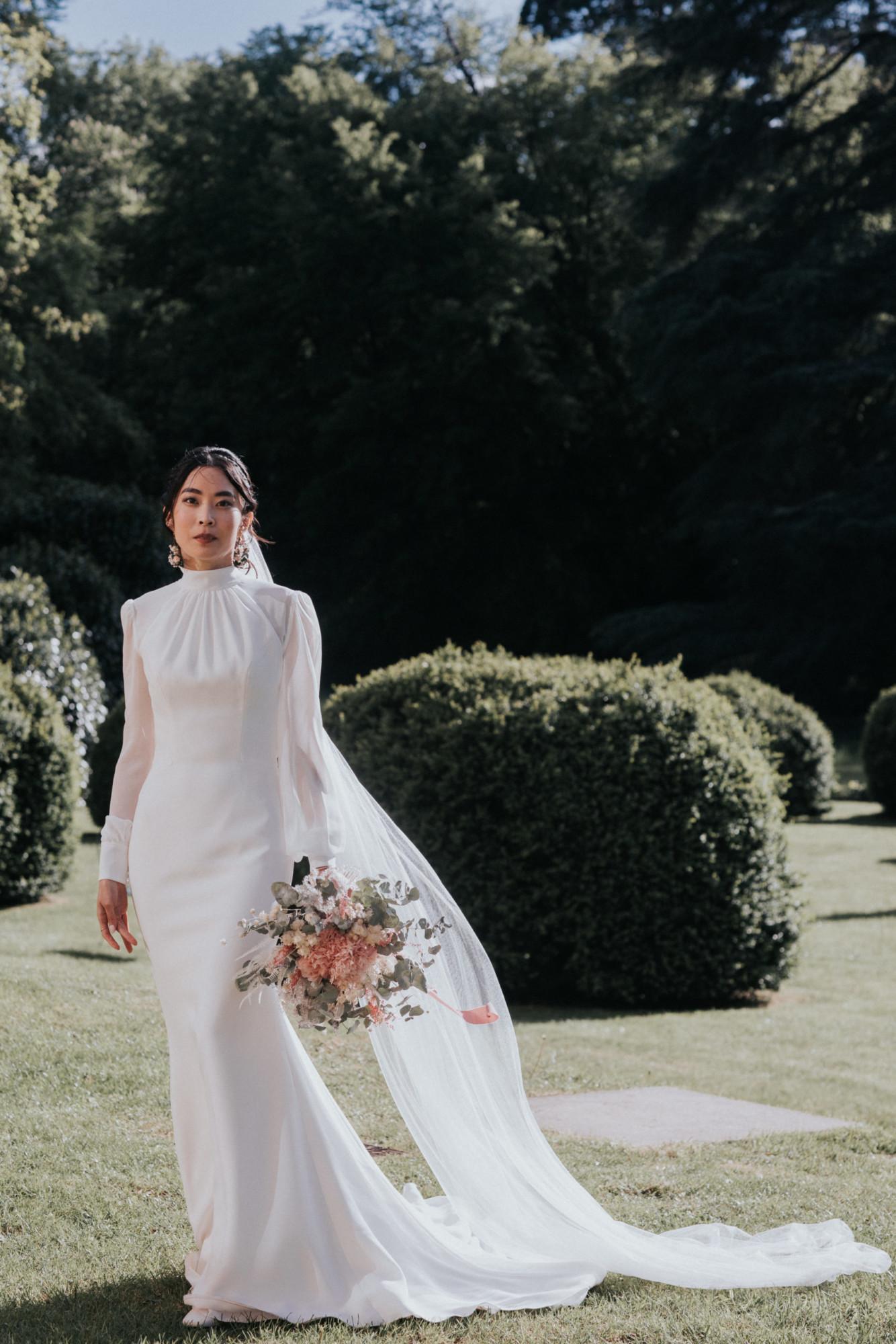 mariage luxe, mariage élégant, mariage raffinée, bouquet de mariée, fleuriste mariage paris