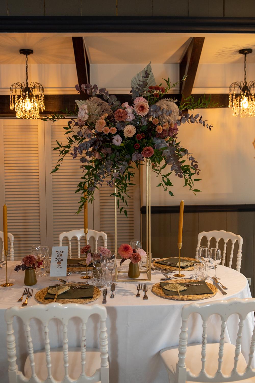 table d'honneur, mariage bohème, mariage élégant, mariage raffiné, décoratrice mariage, décoration mariage composition florale, floral designer, wedding, autumn wedding , wedding design